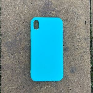 Accessories - Light Blue iPhone Case slim 7 8 Plus X XS XR Max